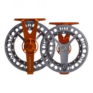 Waterworks-Lamson Force SL Fliegenrolle orange/grey