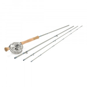 Center Axis Saltwater Fliegenrute Fliegenrolle Kombination Waterworks-Lamson