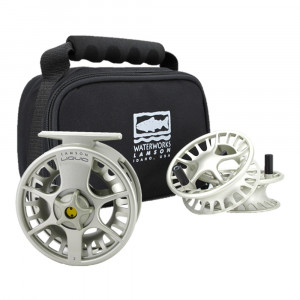 Waterworks-Lamson Liquid Fliegenrolle Set vapor