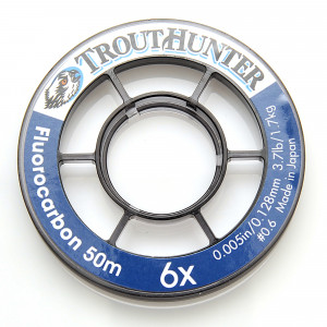 TroutHunter Fluorocarbon Tippet Vorfachmaterial