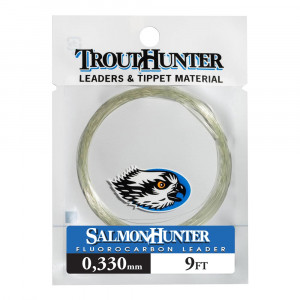 SalmonHunter Fluorocarbon Tapered Leader Vorfächer 9 Fuss by TroutHunter