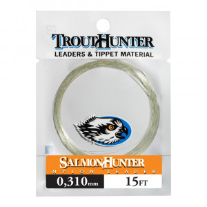 SalmonHunter Nylon Tapered Leader 15 ft Vorfaecher by TroutHunter