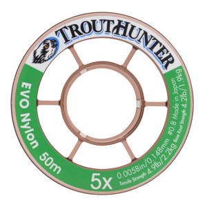 TroutHunter EVO Nylon Tippet Vorfachmaterial