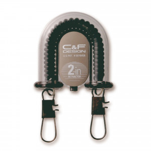 C&F Design 2-in-1 Retractor A-70 schwarz