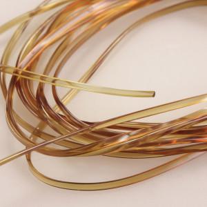 Magic Glass mitteloliv zum Fliegenbinden unter Fliegenbindematerial bei FFE