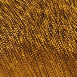 Rehhaar Winter Natur gefärbt gelb zum Fliegenbinden unter Fliegenbindematerial bei Flyfishing Europe