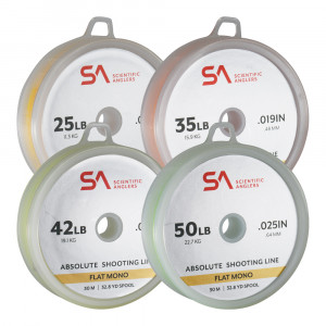 Absolute Shooting Line Flat Mono Schussschnur Scientific Anglers