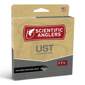 UST Express Sink Schusskopf Zweihand Shooting Taper Scientific Anglers