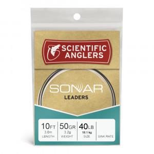 Sonar Leader Salmon Raubfisch 40lb Sinkvorfaecher Polyleader Scientific Anglers