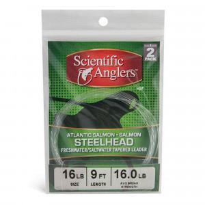 Scientific Anglers Salmon Steelhead Leader 2er Set Vorfaecher