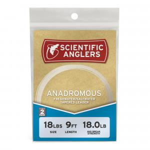 Scientific Anglers Anadromous Leader 2er Pack Vorfaecher