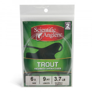 Scientific Anglers Trout Leader 2er Set Vorfaecher