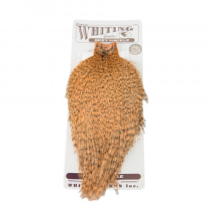 Whiting Spey Hackle Balg grizzly salmon