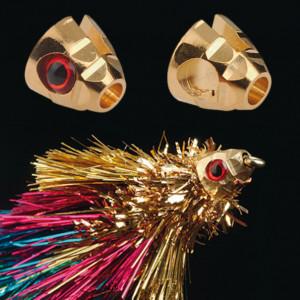 Streamerbinden mit Diamond Cone Heads in gold oder silber zum Fliegenfischen bei Flyfishing Europe