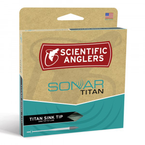 Sonar Titan Sink Tip Intermediate Fliegenschnur Scientific Anglers