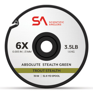 Absolute Trout Stealth Tippet Vorfachmaterial Scientific Anglers