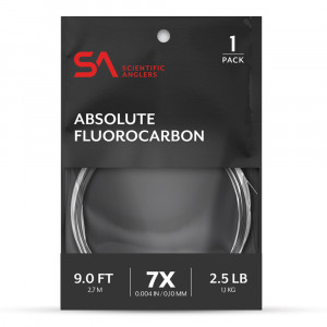 Absolute Fluorocarbon Leader Vorfach Scientific Anglers