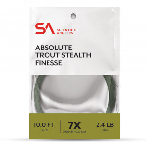 Absolute Trout Stealth Finesse Leader Vorfach Scientific Anglers