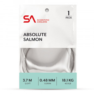 Absolute Salmon Leader Vorfach Scientific Anglers