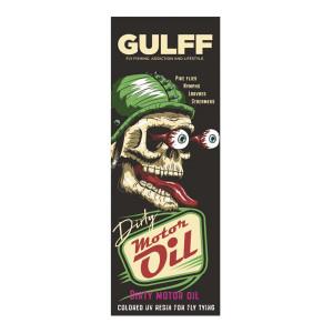 Gulff Dirty Motor Oil UV Resin Harz
