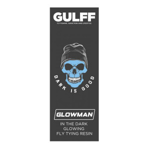 Gulff Glowman UV Resin Harz glow-in-the-dark