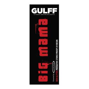 Gulff Big Mama UV Resin Harz roter glitter