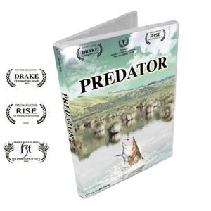DVD Predator Englisch Fliegenfischerfilm über Raubfische bei Flyfishing Europe