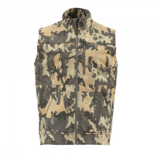 Simms Rogue Weste hex flo camo timber