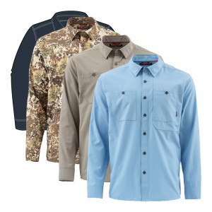 Simms Double Haul Shirt Langarm-Hemd