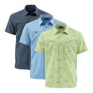 Simms Double Haul SS Shirt Kurzarm Hemd