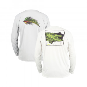 Simms Solar Tech Tee Shirt Lake Collection