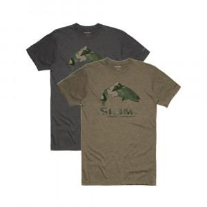 Simms Trout hex flo camo T-Shirt