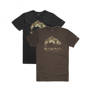 Simms Trout river camo T-Shirt