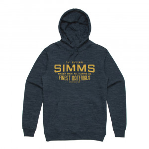 Simms Wader Mfg Hoody Kapuzenpullover navy heather