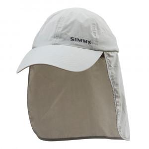 Simms Superlight SunShield Cap Sonnenschutz Kappe sterling