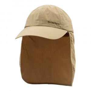 Simms Bugstopper SunShield Cap Sonnenschutz Kappe cork