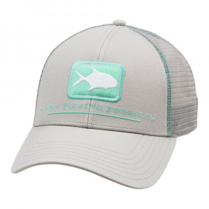 Simms Permit Icon Trucker Cap Kappe sterling