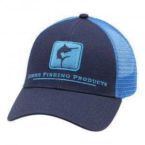 Simms Marlin Icon Trucker Cap Kappe admiral blue