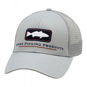 Simms Redfish Icon Trucker Cap Kappe granite