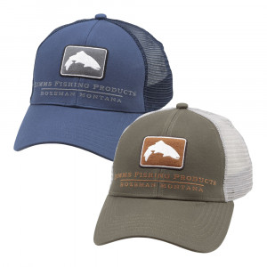Simms Trout Icon Trucker Cap Kappe small fit