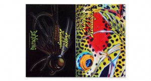 Postkarten Happy Holiday von Simms im Derek DeYoung Design bei Flyfishing Europe