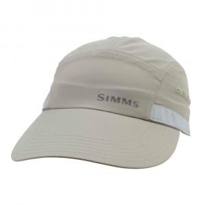 Simms Flats Cap Long Bill Kappe boulder