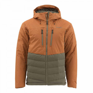 Simms West Fork Jacke saddle brown