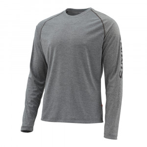 Simms Lightweight Core Top Hemd carbon