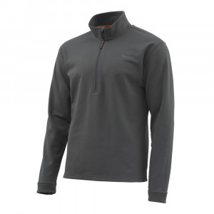 Simms Midweight Core Quarter-Zip Top carbon