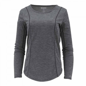 Simms Womens Lightweight Core Top Hemd schwarz