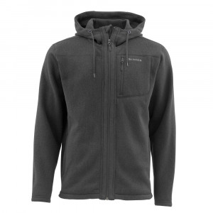 Simms Rivershed Full Zip Hoody black