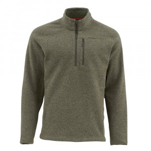 Simms Rivershed Sweater loden Herbst 2017