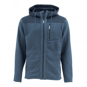 Simms Rivershed Full Zip Hoody admiral blue