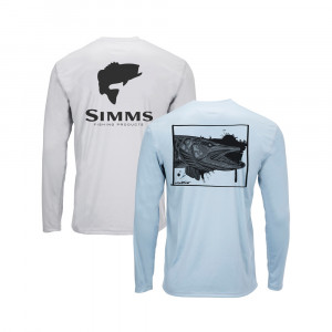 Simms Solar Tech Tee Lake Collection
